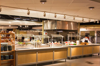 Central Michigan University Dining Hall