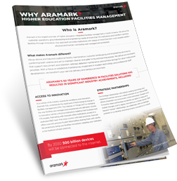 Why Choose Aramark for Your Campus Facilities Management