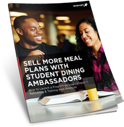 Sell More Meal Plans with Student Dining Ambassadors Guide