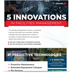 5 Innovations in Facilities Management Infographic