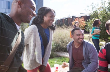 Students Dining On-Campus